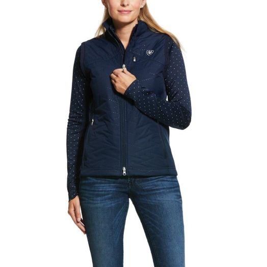 Ariat Hybrid Insulated Water Resistant Navy Vest