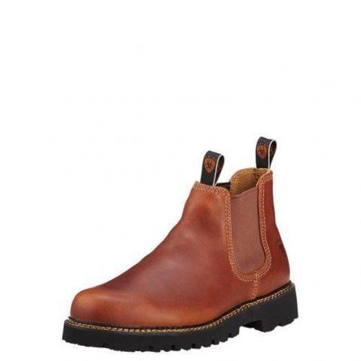 Ariat Men's Spot Hog Peanut Pull on Shoe