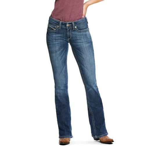 Ariat Mid Rise Carlie Bootcut Jean