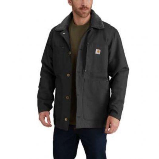 Carhartt Black Full Swing Chore Coat