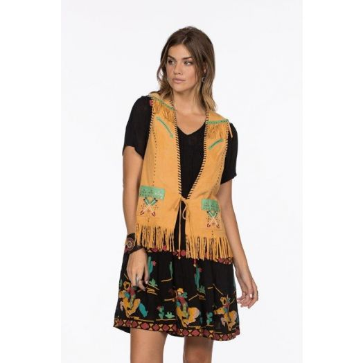Double D Ranchwear Circus Rodeo Vest