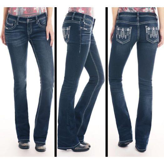 Rock & Roll Vintage Rival Bootcut Jean