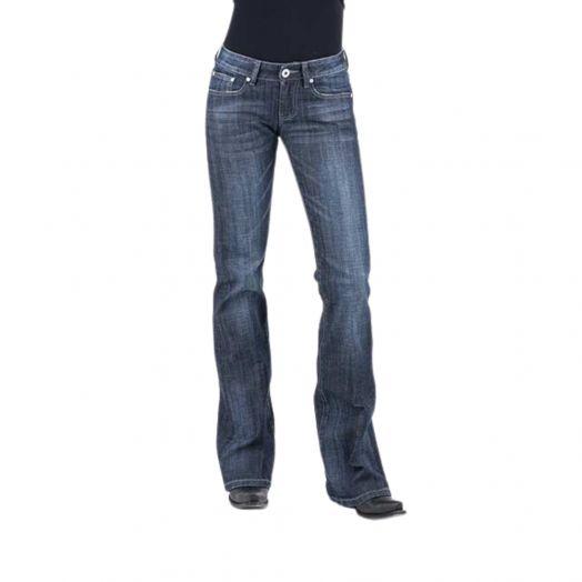 Stetson Zig Zag Pocket Bootcut Jean