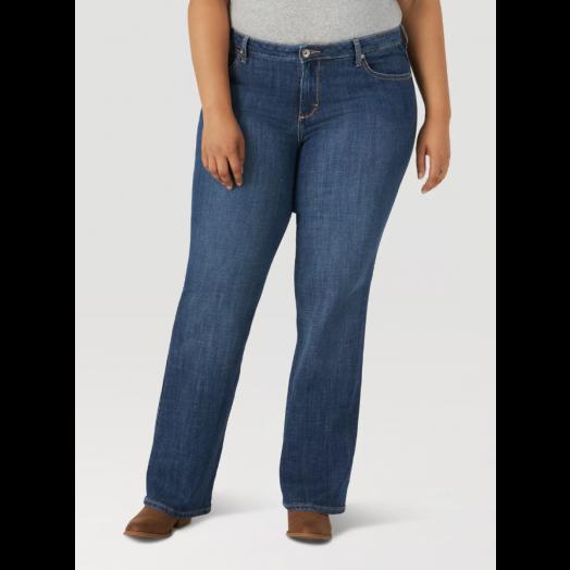 Wrangler Aura Instant Slim Mid Rise Jean