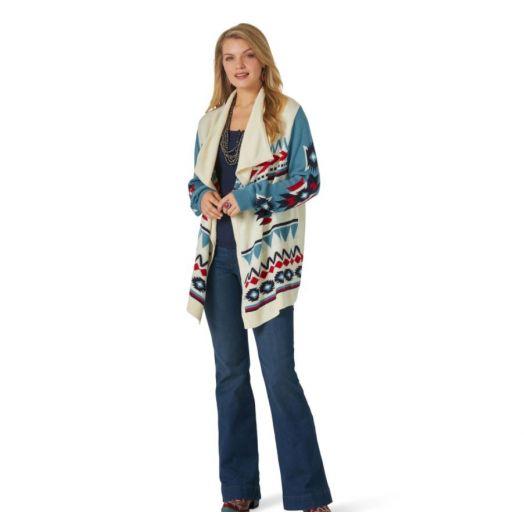 Wrangler® Retro® Ladies Aztec Americana Cardigan