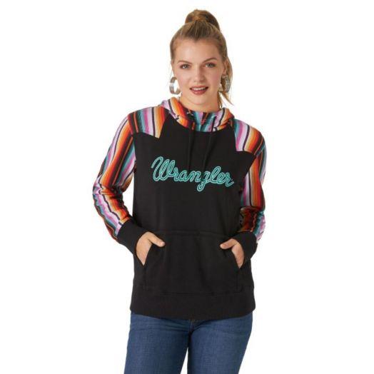 Wrangler® Retro® Ladies Serape Punchy Hoodie